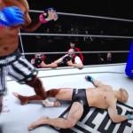 Crazy UFC 3 Knockout.