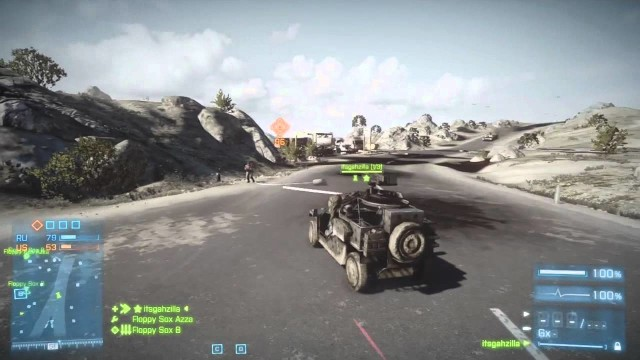 Drifting in BF3