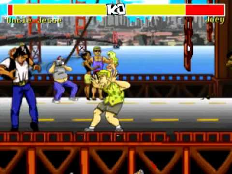 Fighting Game Based On Full House Looks Too Good To Be True