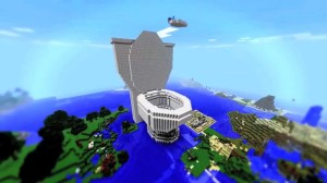 Giant Toilet in Minecraft!