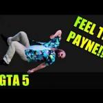 Max Payne harassing pedestrians. GTA V.