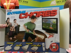 Extreme Chores. Hottest video game ever.