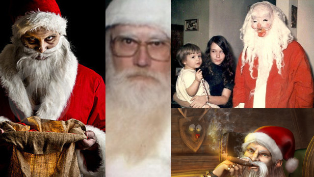15 Freaky Santas