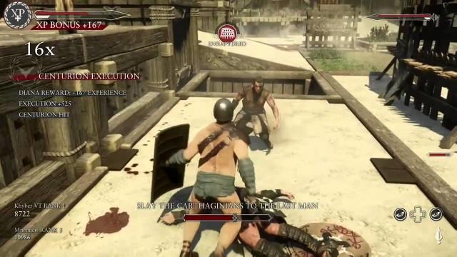 Spartan Kick in Ryse.