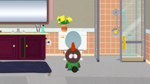 Farting In The Shower And Pooping. Only in South Park