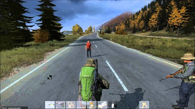 Giving Out Free Sardines In DayZ