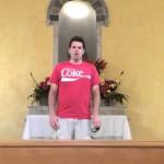 Guy Sings Halo Theme In Empty Church. Kills it.