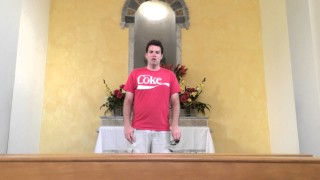Guy Sings Halo Theme In Empty Church. Kills it.