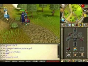 Man shows us how to get a girlfriend on Runescape