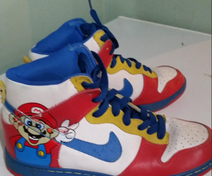 Super Mario Shoes To Keep The Haters Away