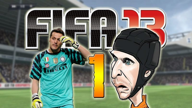 Bad goalies! FIFA 13 fails.