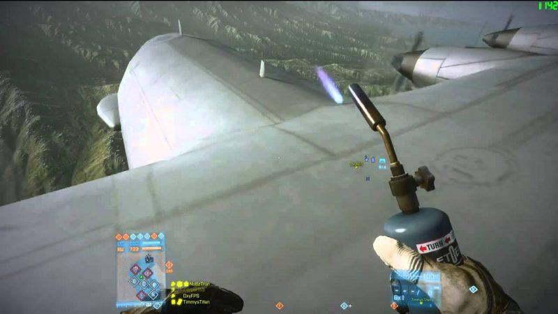 Epic AC130 Takedown. BF3.