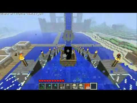 Epic Minecraft Waterslide
