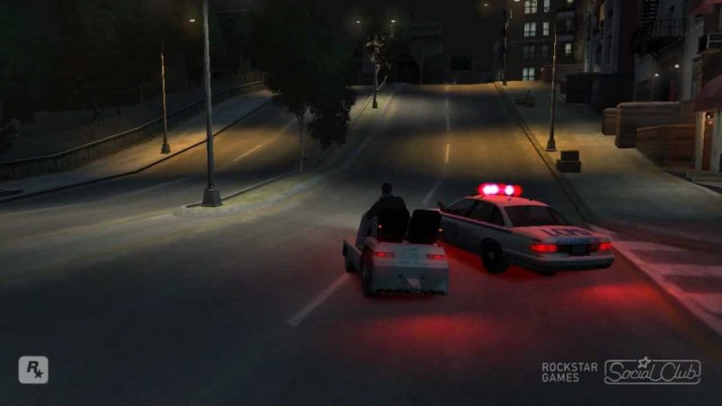 Golf Cart Police Chase GTA IV
