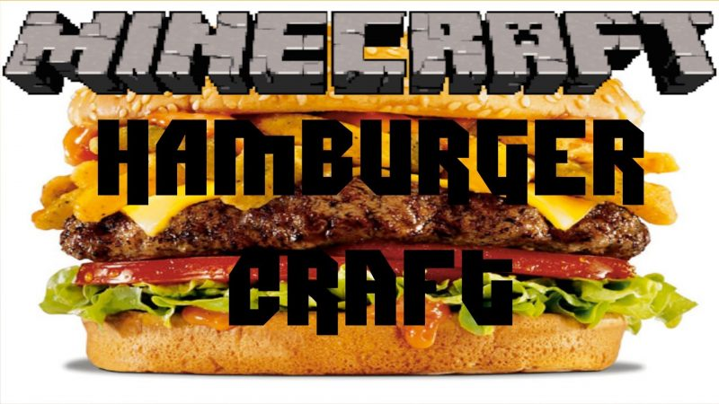 Hamburgercraft Minecraft Mod