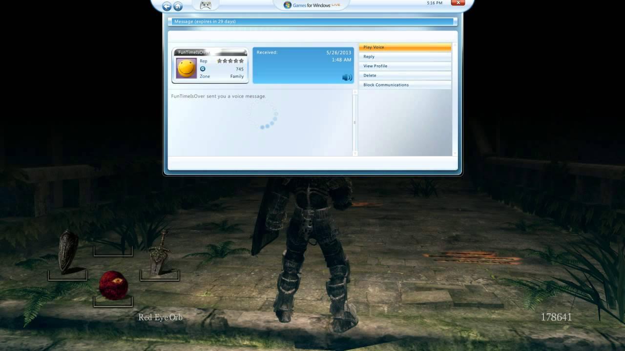 Lamest hacker ever. Dark Souls.