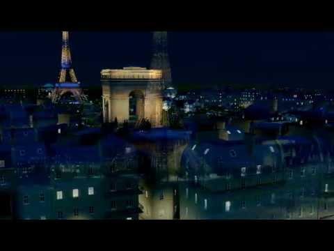 Paris in SimCity.