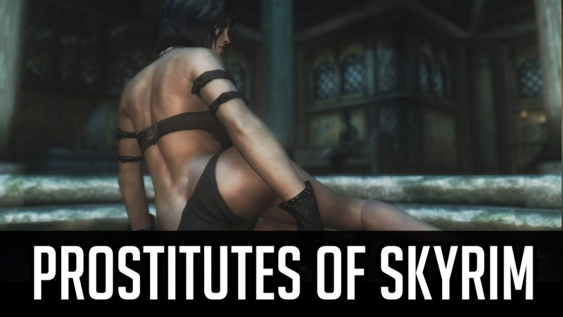 Prostitutes of Skyrim mod.