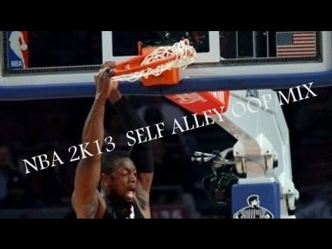 Self alley oop mix. NBA 2k13.