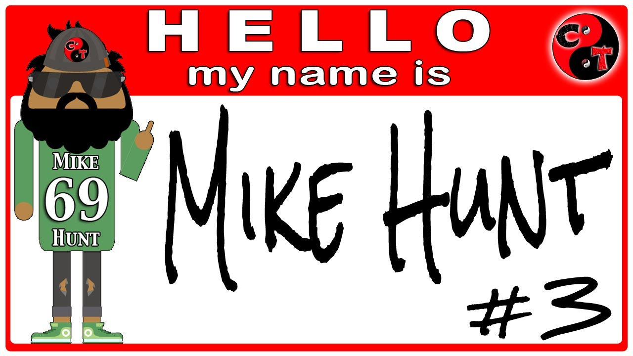 Meet Mike Hunt. BO2 Trolling.