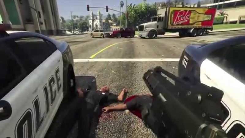 The Most Brutal GTA V Montage of All Time